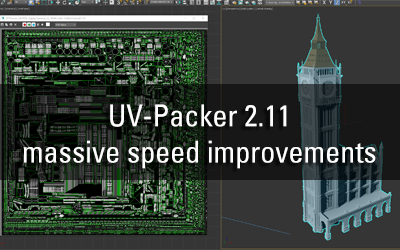 UV-Packer 2.11 – massive speed improvements