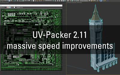 UV-Packer 2.11 – massive speed improvements