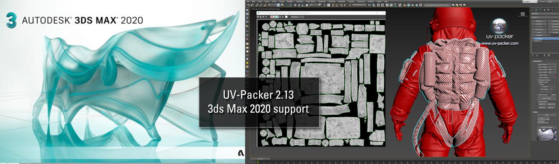 UV-Packer 2 13 for 3ds Max 2020 released | UV-Packer