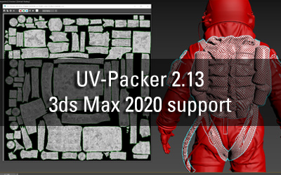 UV-Packer 2.13 for 3ds Max 2020 released