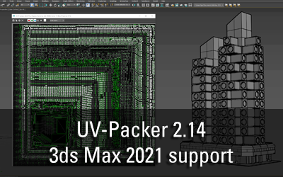 UV-Packer 2.14 for 3ds Max 2021 released