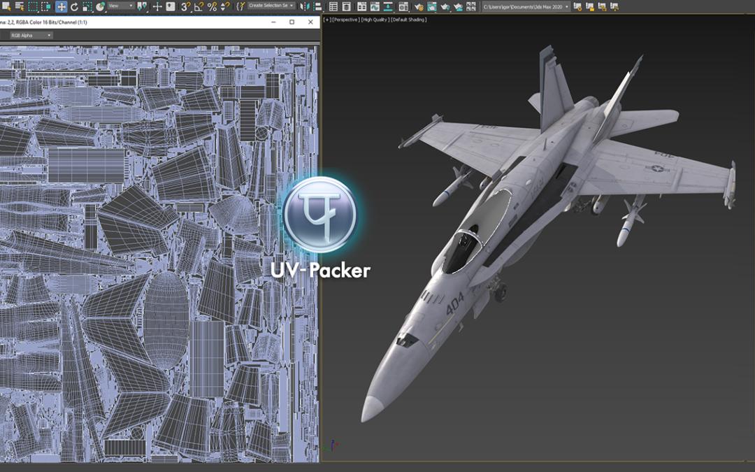 UV-Packer 3 Released! (3dsMax)